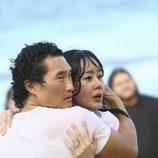 Sun y Jin se asustan en 'The Last Recruit'