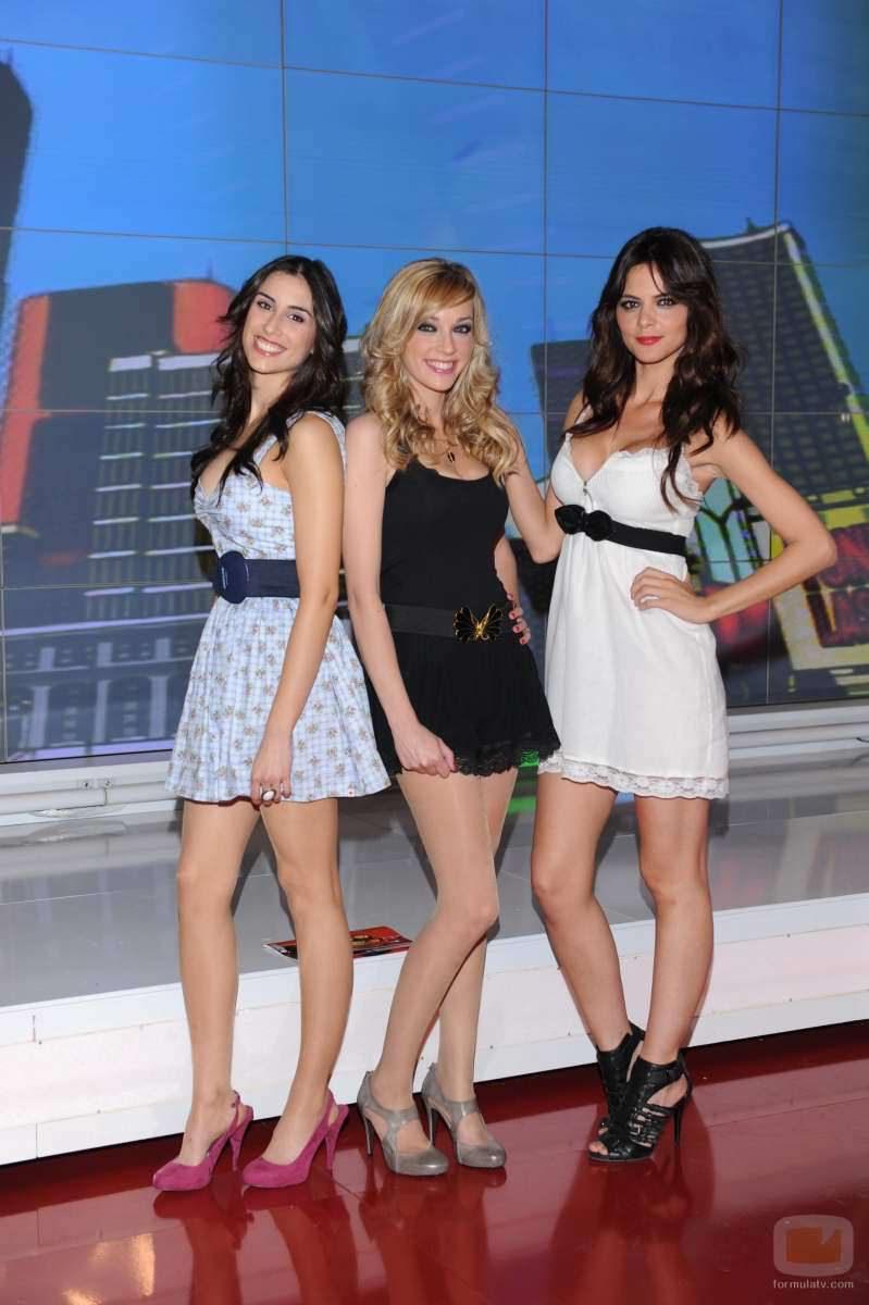 Anna Simón, Romina Belluscio y Paula Garber