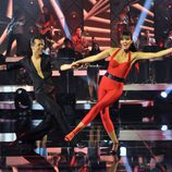 Helen Lindes baila un rock and roll en 'MQB'