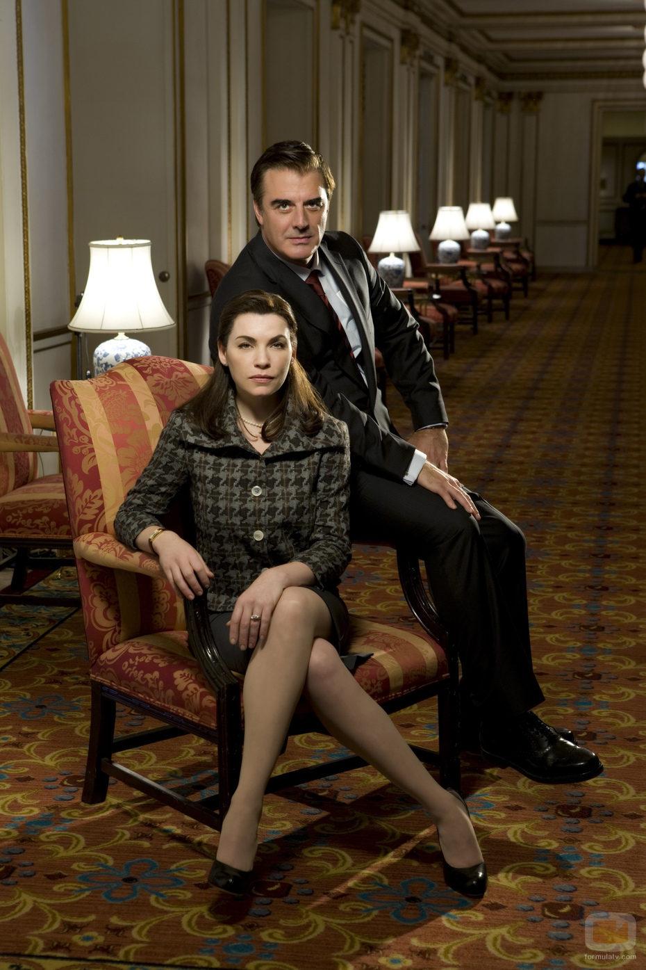 Peter y Alicia Florrick, de 'The Good Wife'