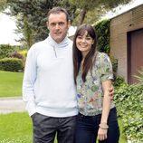 Daniel Freire y Ángela Moreno