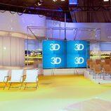 El decorado de '3D'