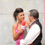 Lorena Castell en el casting de 'Los Managers'