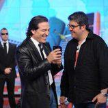Florentino Fernández con Pepe Navarro