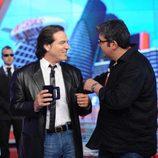 Visita de Pepe Navarro a 'Tonterías las justas'