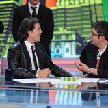 Florentino Fernández charla con Pepe Navarro