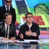 Flo y Pepe Navarro en 'Tonterías las justas'