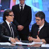 Pepe Navarro con gafas en 'Tonterías las justas'