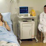 Lis y Aitor en el Hospital en 'Los hombres de Paco'