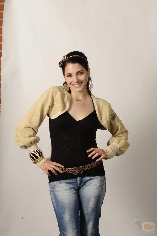 Andrea Duro en una foto promocional de la quinta temporada de 'Física o Química'