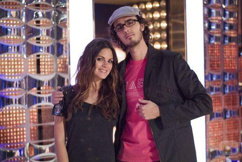Amaia Salamanca y Diego Arjona