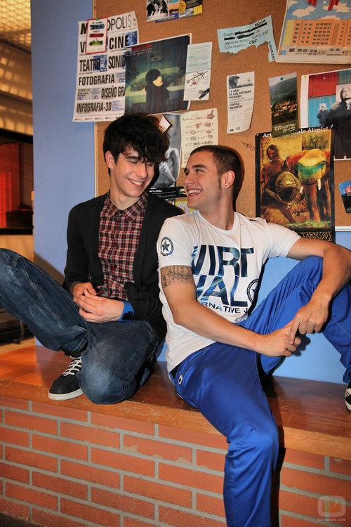 Adrián Rodríguez y Javier Calvo