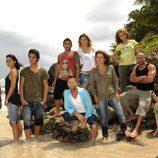 Concursantes famosos de 'Supervivientes 2010'