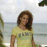 Beatriz Trapote en la isla de 'Supervivientes 2010'