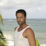 Javier Quiñones en la isla de 'Supervivientes 2010'