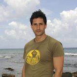 Román Irigoyen en la isla de 'Supervivientes 2010'