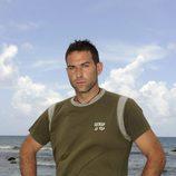 Víctor Roldán en la isla de 'Supervivientes 2010'
