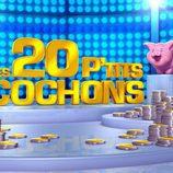 """Logotipo de """"Les 20 P'tits cochons"""" (Los 20 cerditos)"""