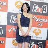 Andrea Duro en la presentación de la quinta temporada de 'FoQ'