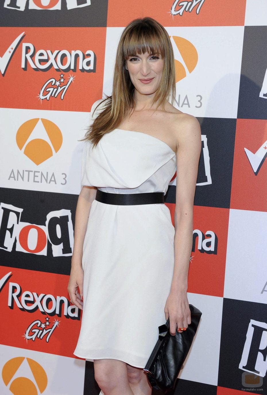 Cristina Alcázar en el estreno en Madrid