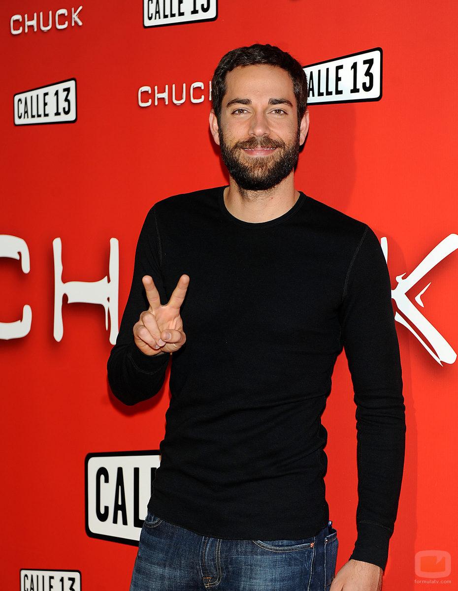 Zachary Levi, de 'Chuck', en Madrid