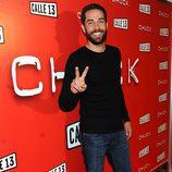 Zachary Levi, de 'Chuck', visita España