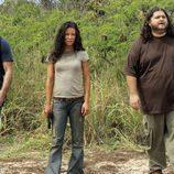 Jack, Kate y Hurley en 'The Candidate'