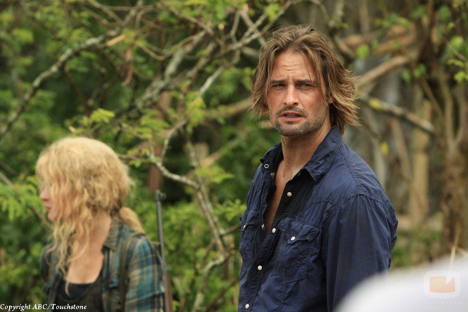 Claire y Sawyer en 'The Candidate'