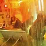 El submarino de Widmore se inunda