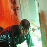 Josh Holloway mojado en 'The Candidate'