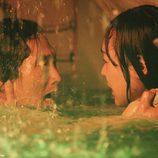 Jin y Sun en el submarino de 'The Candidate'