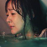 Sun poco antes de morir ahogada en 'The Candidate'