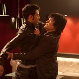 Román y Gorka se pelean