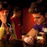 Julio y Teresa en 'La fiesta'