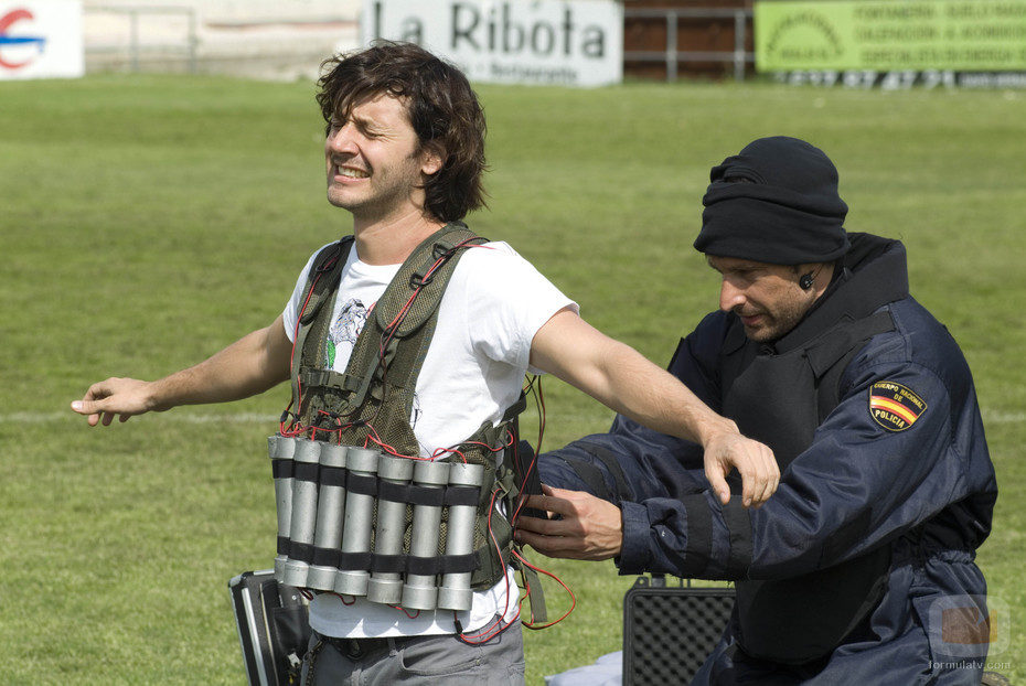 Deker en peligro en 'Los hombres de Paco'