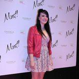 María Villalón en los Premios Must!