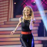 Carmen Lomana baila en la semifinal de 'MQB'