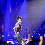 Pilar Rubio baila en la semifinal de 'MQB'