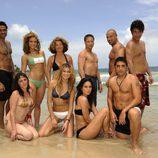 Los famosos de 'Supervivientes 2010' ligeros de ropa