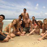 Los famosos de 'Supervivientes 2010' muestran sus cuerpos