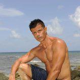 Miguel Macías sin camisa en 'Supervivientes'