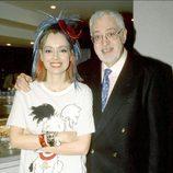 Antonio Ozores con su hija Emma
