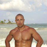 Rafa Mora sin camiseta en 'Supervivientes'