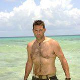 Víctor Roldán, de 'Supervivientes', sin camiseta