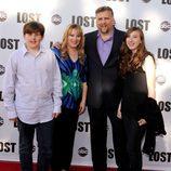 Daniel Roebuck y su familia