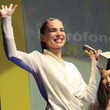 Beatriz Montañez en los Micrófono de Oro 2010