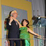 Pilar Rubio baila con Luis del Olmo
