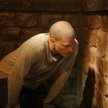 Wentworth Miller en un capítulo de 'Prison Break'