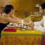 Anabel Alonso cena en 'La familia Mata'