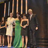 Las chicas de 'El intermedio' en los Micrófono de Oro 2010